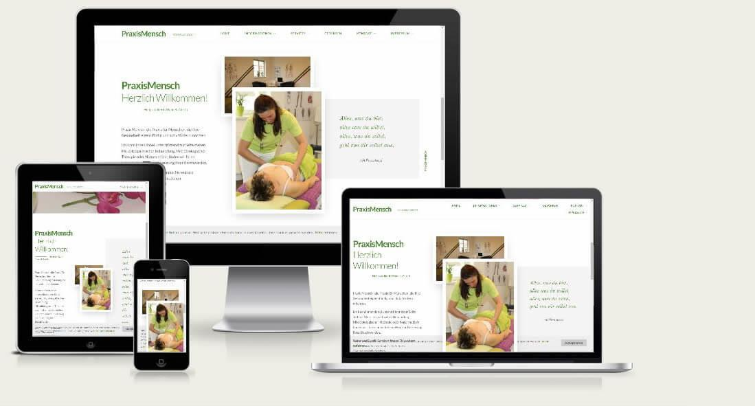 Webseite Arzt - Webdesign Althornbach